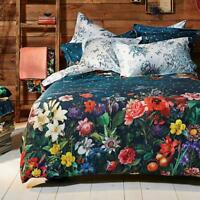 Desigual Dark Floral Quilt Cover Set