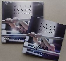 WILL YOUNG * 85% PROOF * DELUXE 14 TRK CD w/ SIGNED BOOKLET * BN&M! * POP IDOL