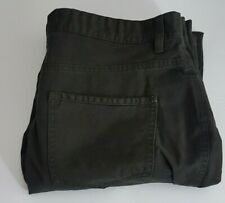 Next Mens Jeans Waist 36in Leg 33in W36 L33 Straight Leg Black 36L 36x33 Button