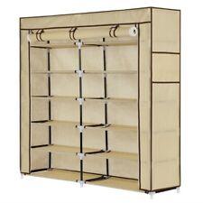 Homegear XL Free Standing Fabric Shoe Rack /Storage Cabinet /Closet Organizer