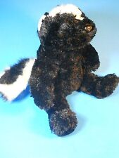 "Skunk stuffed plush Doll by The Bear Mill 12"" tall, 17"" long,"