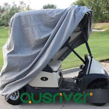 Grey Premium Waterproof UV Dust Protector Golf Cart Cover Club Car Cover