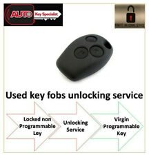 Unlocking Service For Renault Modus 2004 - 2012 3 Button Fob key