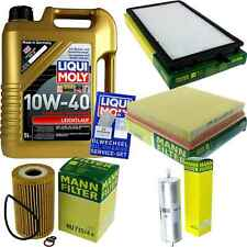 Inspection Kit Filter Liqui Moly Oil 5L 10W-40 for BMW 3er E36