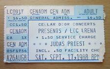 1988 JUDAS PRIEST CINDERELLA LAKELAND CONCERT TICKET STUB DEFENDERS OF THE FAITH