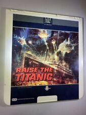 Raise The Titanic CED VideoDisc Vintage RARE