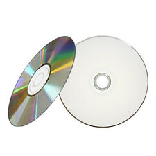 300 52X White Inkjet HUB Printable Blank CD-R CDR Disc Recordable Media 700MB