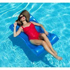 Hammock Pool Float Unsinkable Foam Aqua Water Swimming Lounge Chair Bed Summer