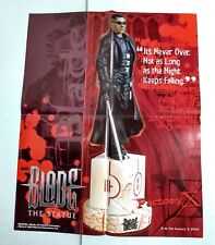 Blade The Statue promo poster (Factory X/Marvel 2001)