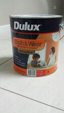DULUX 4 LITRE WASH/WEAR LOW/SHEEN INTERIOR TRUE-RED COLOR PAINT