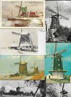 Windmill - Mill Mills Illustrated and RPPC Lot of 20 Postcards 01.08