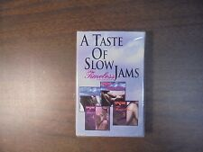 """NEW SEALED """"A Taste Of Slow Jams"""" The Timeless Collection   Cassette Tapes   (G)"""
