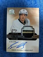 NHL UD 2011/12 THE CUP HOCKEY SIMON DESPRES AUTO ROOKIE PATCH 70/249