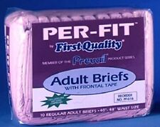 Prevail Perfit PF-016/1 Adult Regular Brief Diaper 40-49 Pack of 20