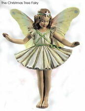 Retired Cicely Mary Barker Christmas Tree Flower Garden Fairy Ornament NIB!
