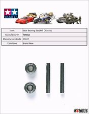 Mini 4wd GEAR BEARING SET(FOR MS CHASSIS) Cuscinetti Per Ingranaggi Tamiya 15347
