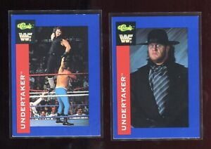 The Undertaker WWF 1991 Classic #64 & 88 -2 Card  Rookie RC Card Lot