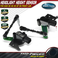 2x Headlight Level  Sensor LH RH for Audi A6 A8 S6 S7 S8 4H0941285G 4H0941286G
