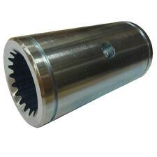 H165510 Axle Shaft Coupler 400 Long 18 Spline Fits John Deere 9400 9410 9450