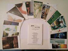 Série de 18 cartes postales d'illustrateurs Dubré Poumeyrol Druillet broutin Cat