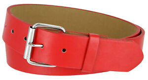 """B570-Casual Jean Belt with Roller Buckle, 1 1/2"""" Wide - Different Colors"""