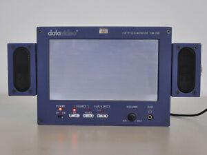 "Datavideo TLM-70D 7"" HD DV/AV-Eingang Monitor mit 2 Lautsprecher + Netzadapter"