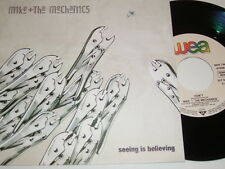 "7"" - Mike & the Mechanics seeing is believing & DON 'T-MINT 1988 # 4886"