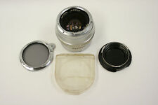 Carl Zeiss 25mm f2.8 Distagon lens w/Zeiss Ikon B56 Contapol filter