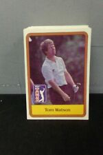 1981 DONRUSS PGA TOUR SET 1-60 + STATISTICAL LEADERS CARDS