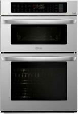 "Nib Lg Lwc3063St 30"" Smart Combination Wall Oven with Smartthinq Technologie"