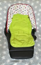 Mamas & Papas Sola Zoom Pixo Colour Pack - Red Hood, Black Pad and Green Liner