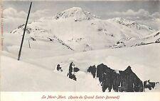 POSTCARD   SWITZERLAND   Le  Mont  Mort     Grand  St  Bernard