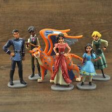 6 Disney Elena of Avalor Action Figures Doll Kids Play Set Toy Cake Topper Decor