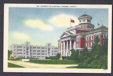 Ca 1934 Post Card University Of Manitoba Winnipeg Canada, Mint