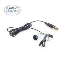 Black OmniDirectional Lavalier Mic ZAMA Lapel Mic For Electro Voice Wireless Mic