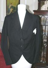 "Victorian or Edwardian Jacket Black Wool Cut-a-way Mr.Curdy Co. ""Pigeon Chest"""