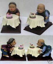 Asian Grandparent Grandma Grandpa Marriage Anniversary Birthday Figure
