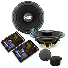 """CDT AUDIO PSS-010 PRO """"SIGNATURE SERIES"""" 6.5"""" 2-WAY COMPONENT SPEAKERS SHALLOW"""