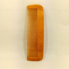 Hot Hair Engraved Natural Peach Wood Wooden Comb Anti-Static Beard Pocket Comb