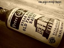 PETER LUGER STEAK SAUCE FROM WORLD FAMOUS STEAKHOUSE IN BROOKLYN NY 1- 12.6 OZ