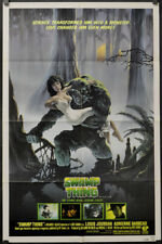 SWAMP THING 1982 ORIG 27X41 STUDIO STYLE MOVIE POSTER NEAR MINT WES CRAVEN