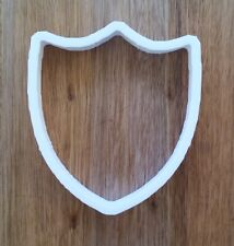 Shield Cookie Cutter Biscuit Pastry Fondant Stencil Point AN020