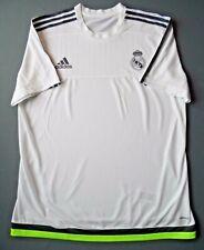 Real Madrid Camiseta 2015 2016 Entrenamiento XL Camisa Adizero White adidas