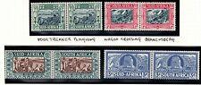 South Africa SG76/9 Voortrekker Centenary pairs set - Unmounted mint