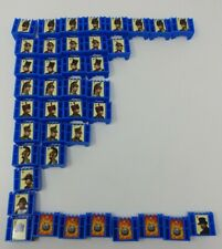 Stratego Board Game 1999 Replacement Pieces - Complete Set Of 40 Blue