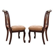 Steve Silver HY600S Company Harmony Side Chair, Cherry- Set of 2 NEW
