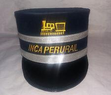 INKA PERU RAIL Eisenbahn Schirmmütze, Gr.58, Ungetragen