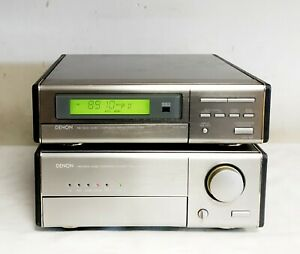 DENON UPA-100 STEREO AMPLIFIER WITH BUILT IN PHONO INPUT + UTU-100 TUNER
