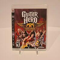 Guitar Hero: Aerosmith (Sony PlayStation 3, 2008) - PS3 - Manual Included