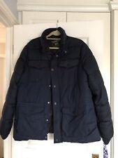 Mens F&F Navy  Winter Coat Size L